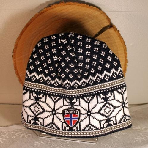 Rokk Norway Stocking Cap - Navy & White