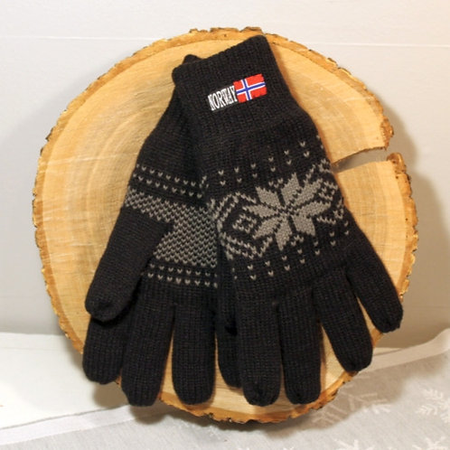 Rokk Norway Gloves - Black