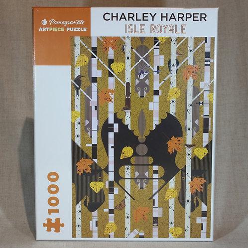 Charley Harper: Isle Royale 1000-Piece Jigsaw Puzzle