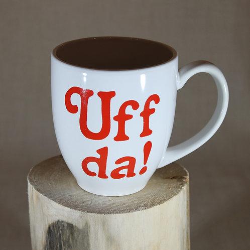Uff Da! Mug -White