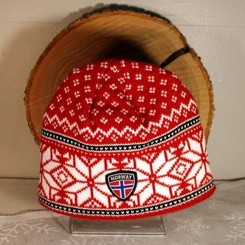 Rokk Norway Stocking Cap - Red & White
