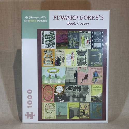 Edward Gorey's Book Covers 1000-Piece Jigsaw Puzzle