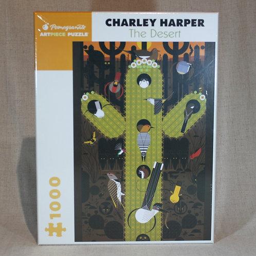 Charley Harper: The Desert 1,000-Piece Jigsaw Puzzle