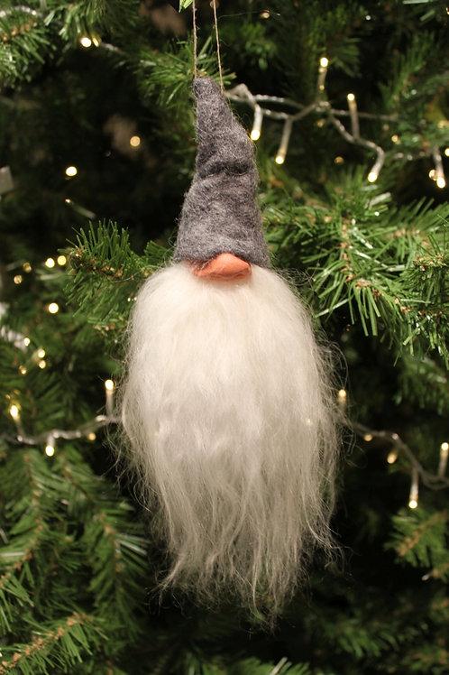 Gumselids Gnome Ornament - Grey