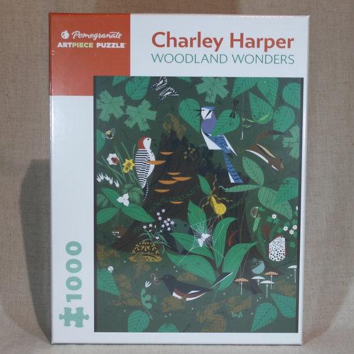 Charley Harper: Woodland Wonders 1,000-piece Jigsaw Puzzle