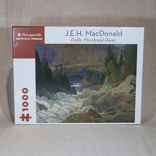 J.E.H. MacDonald: Falls, Montreal River 1000-piece Jigsaw Puzzle
