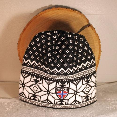 Rokk Norway Stocking Cap - Black & White