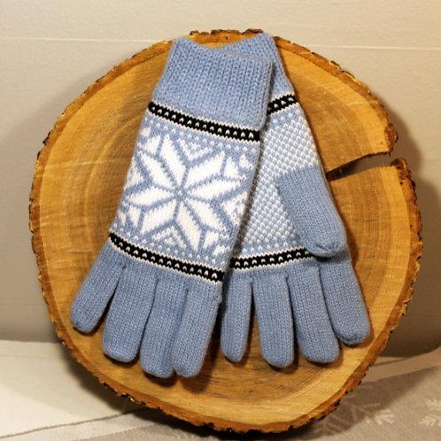 Rokk Norway Gloves - Light Blue