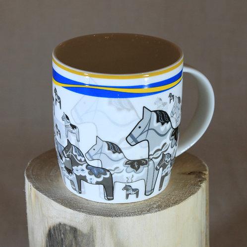 Dala Horses Sweden Mug