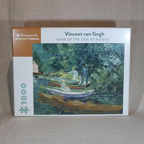 Vincent Van Gogh: Bank of the Oise at Auvers 1000 Piece Puzzle