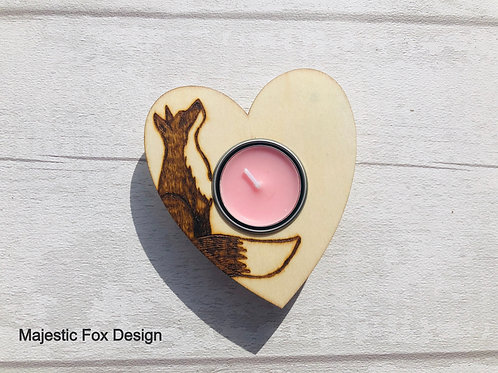 Heart Tealight Holders