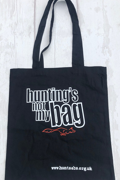 """""""Hunting's Not My Bag"""" Canvas Bags"""