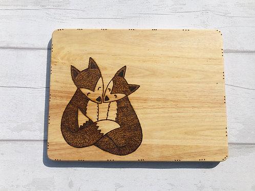 Fox Chopping Board's