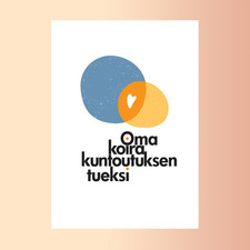 Kuntoutuskoirayrityksen logo