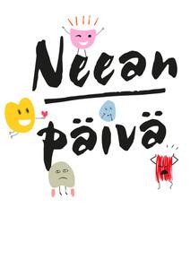 Neean päivä -lastenkirjan logo
