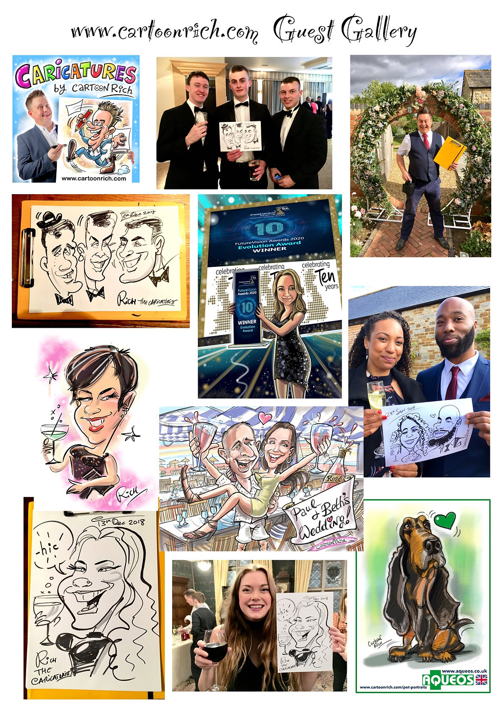 Caricaturist London Wedding Corporate .j