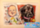 caricatures of dogs caricatures of babie
