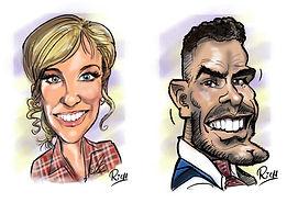 iPad Caricaturist Midlands Cartoonist Lo