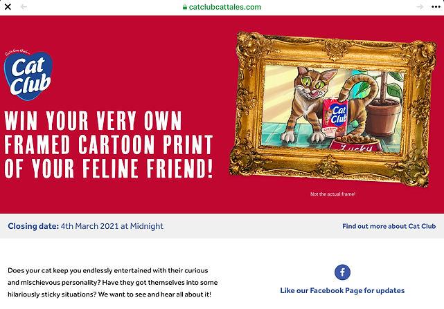Social Media Marketing Competition Art