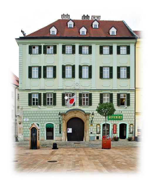 Haus in Bratislava, Slowenien