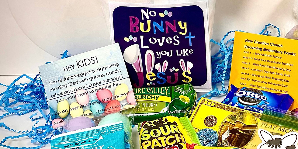 Kids' Contactless Drive-Thru  Easter Basket Giveaway