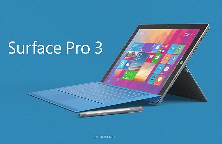 Microsoft Surface Pro 3 screen repair