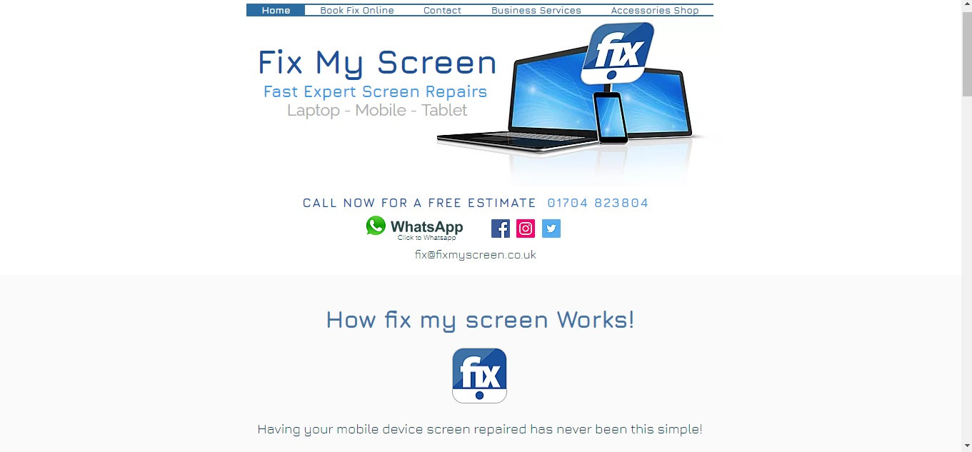 Mobile Laptop & Tablet Repairs | Fix MyScreen | Southport