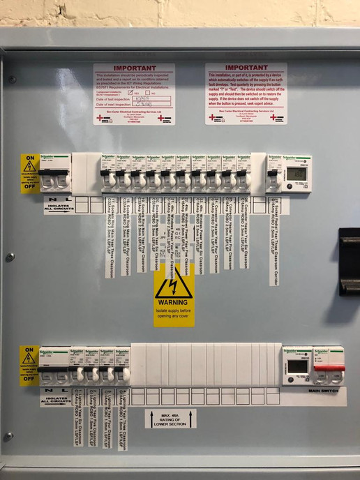 Holy Trinity C of E Primary School - Ben Carter Electrical