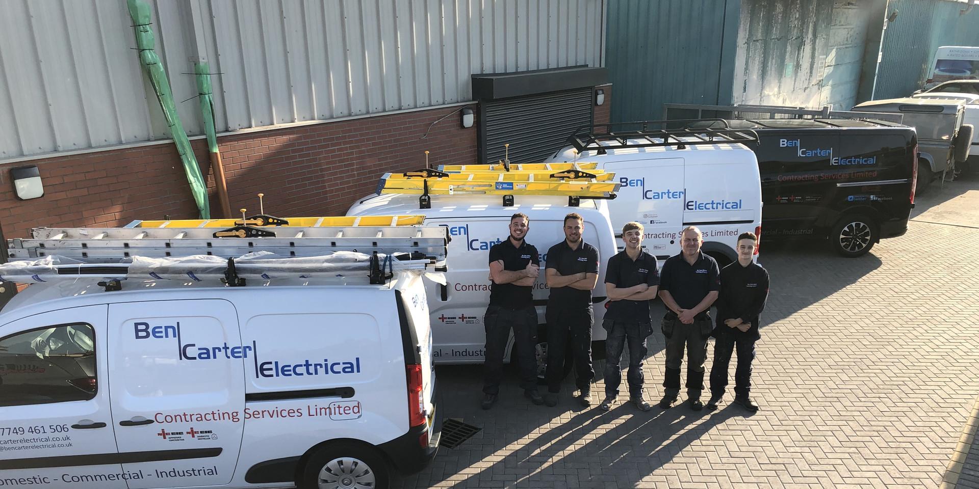 Ben Carter Electrical Crew