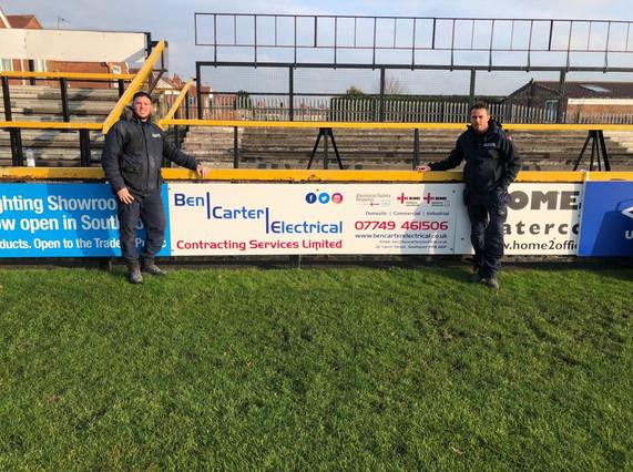 Ben Carter Sponsors Southport FC