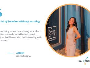 Meet Amber, the UX/UI Designer at Kai Analytics