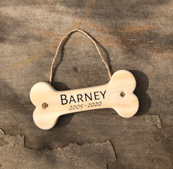 Barney - Dog Specific Memorial Plaque