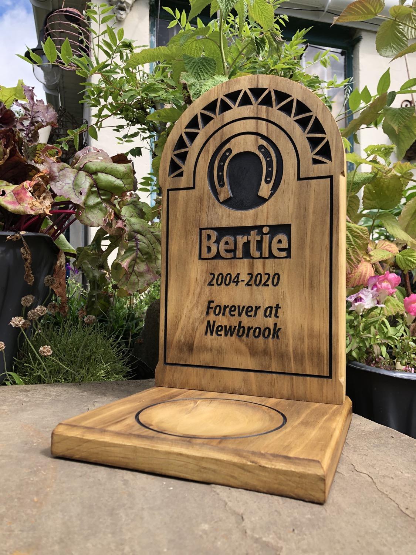 Bertie - Premium Headstone