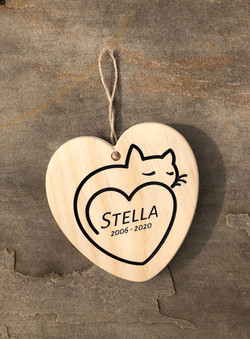 Cat Specific Memorial Plaque