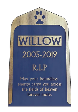 Paws 2 Remember Recessed Pet Memorial