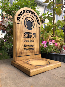 Bertie the Horse - Large Headstone