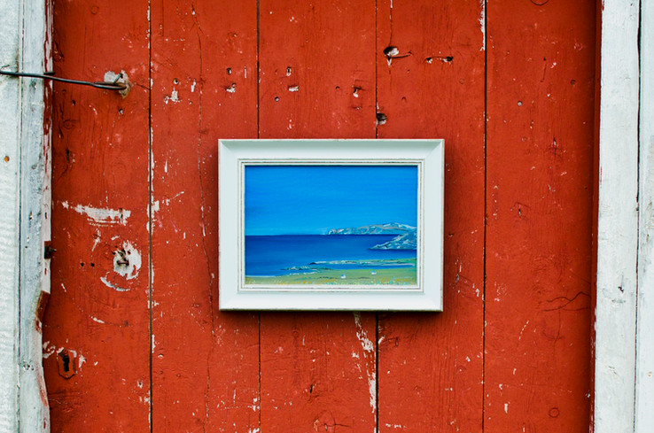 New Hasvik paintings at Art Shop and 25% sale!