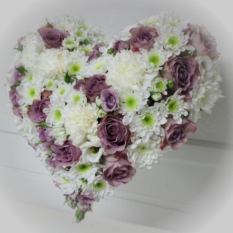 Hjerte lilla