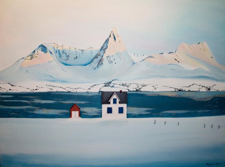 """Kunst """"Januar i Nord"""""""