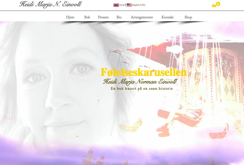 Hjemmeside Føleseskarusellen