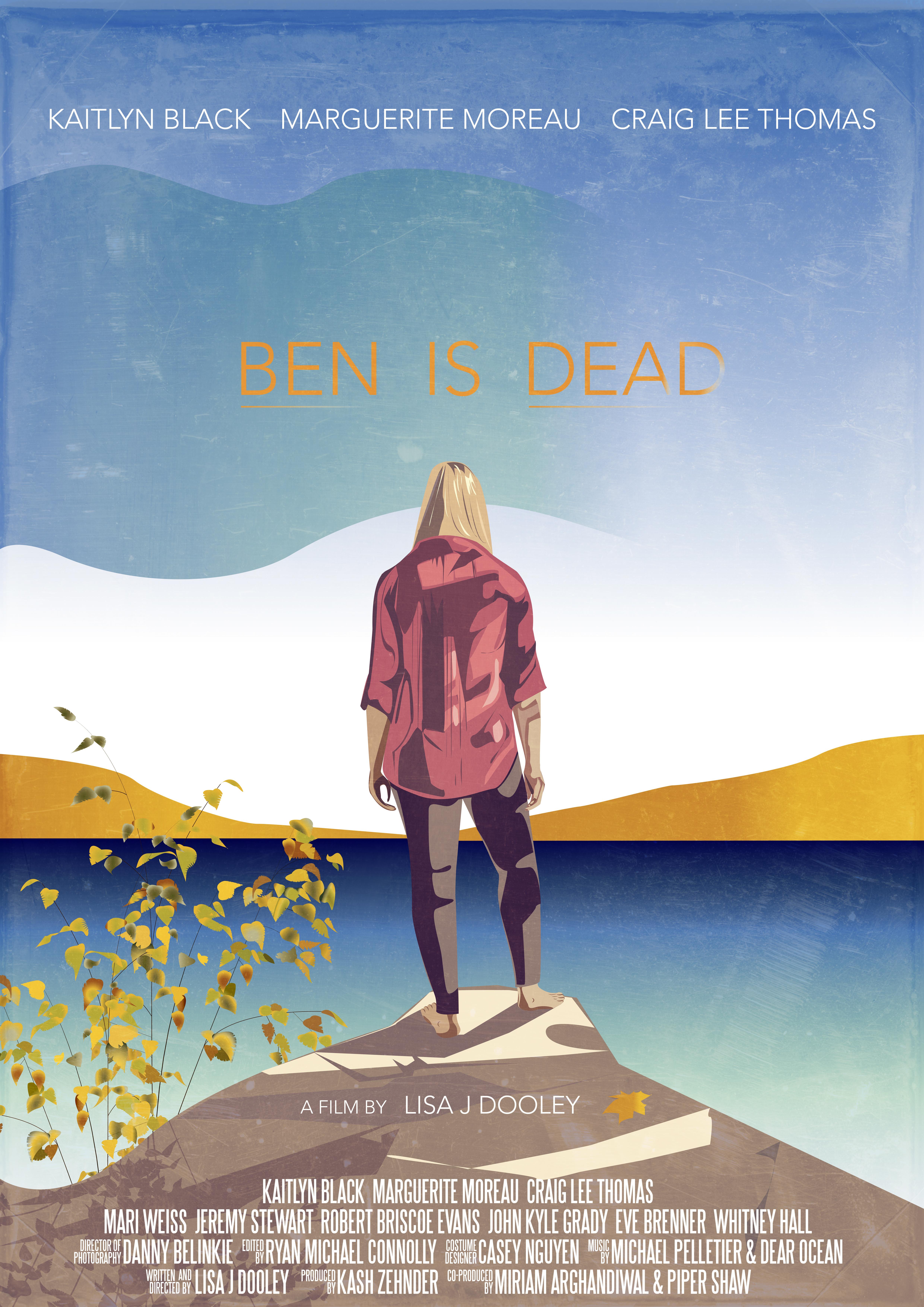 Plakat- Poster Ben is dead