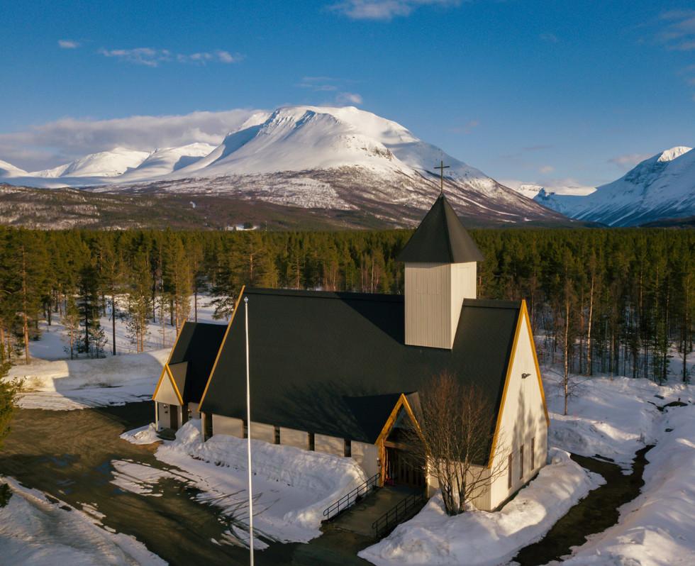 Kirkesnesmoen kapell.