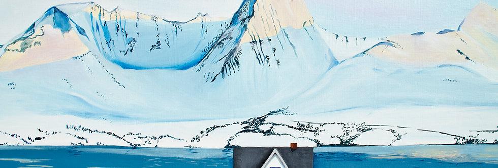 Kunsttrykk / Print - Januar i Nord