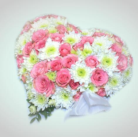 Hjerte rosa