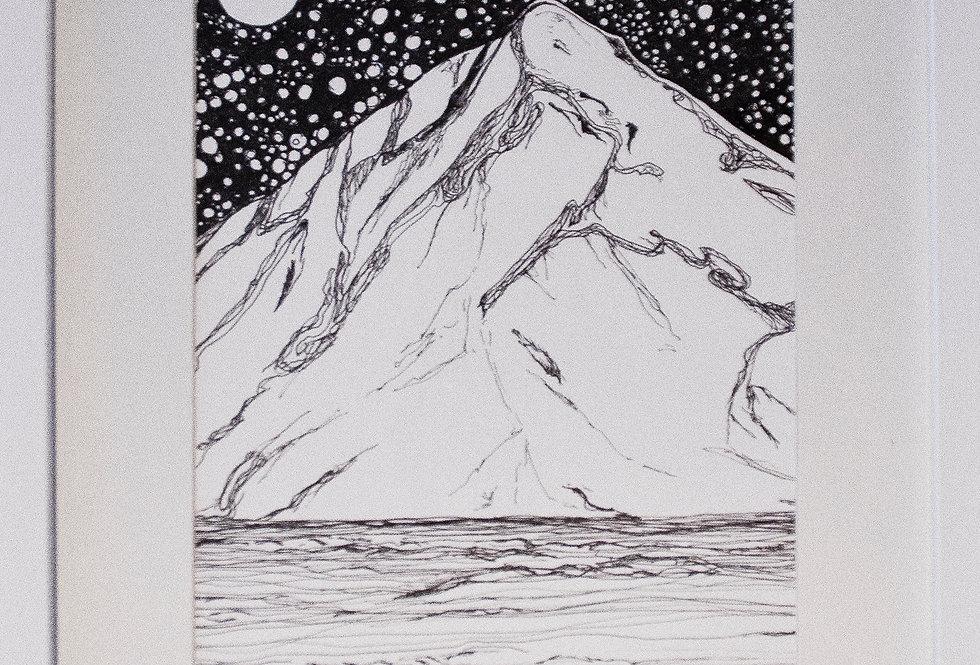 Stjernenatt Tegning