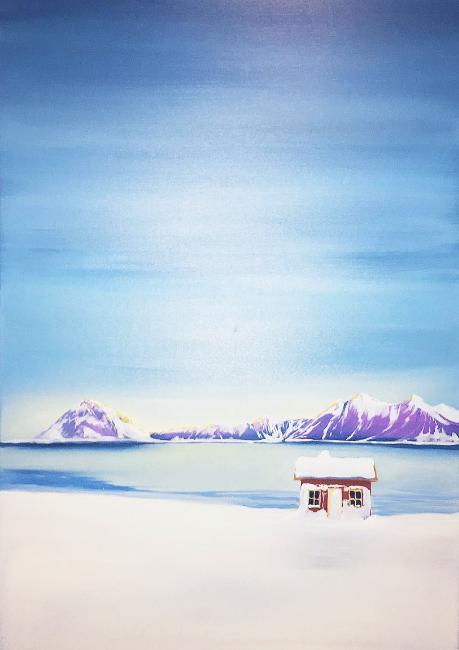 """Nytt maleri på Art Shop """"Vakre Nord"""""""
