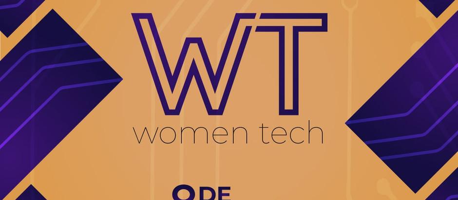 Primeira edição do WomenTech acontece no dia 8 de março
