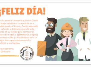 ¡Feliz día de los trabajadores y trabajadoras!