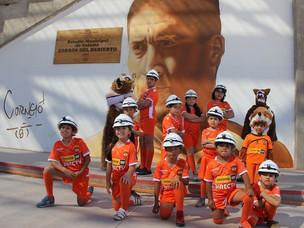 En el mes de la minería: Cobreloa rindió homenaje a trabajadores y trabajadoras del cobre