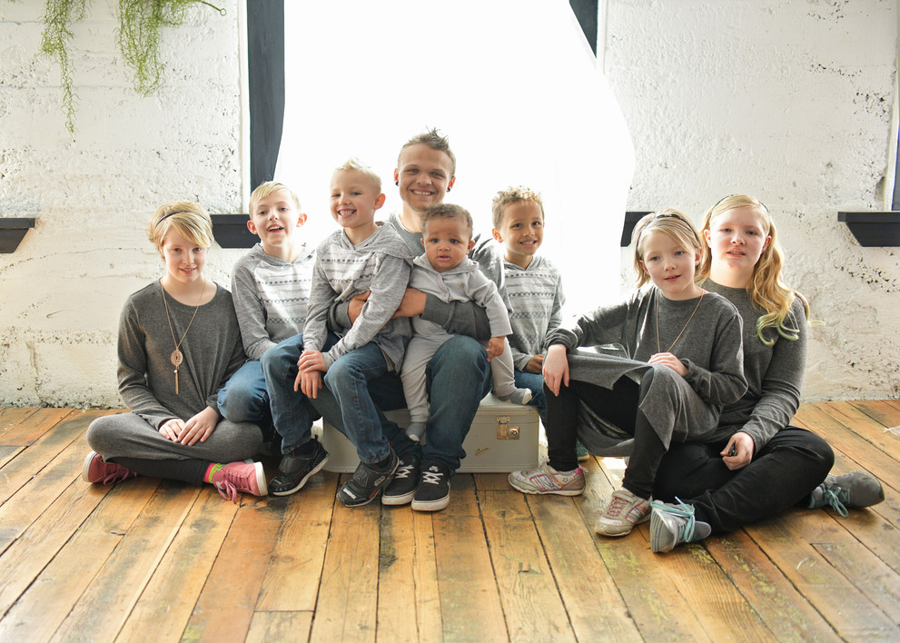 extended family jsut the kids